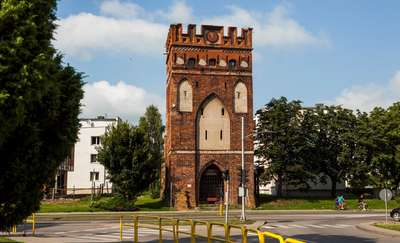 Garncarska Gate (Holy Spirit or Elbląska Gate)