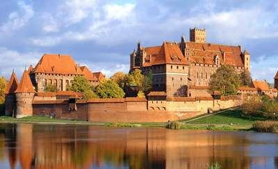 Die Ordensburg in Malbork