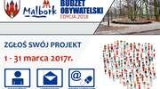 Tylko do końca marca składamy wnioski do Budżetu Obywatelskiego na 2018 rok