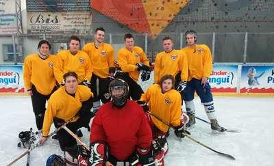 UKS Bombek mistrzem Regionalnej Ligi Hokeja na Lodzie w Malborku