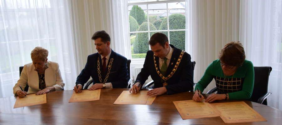 Umowa partnerska z Kilkenny podpisana