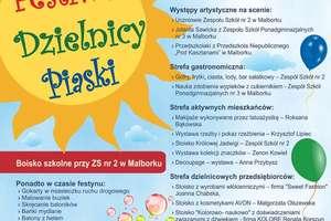 VI Malborski Festiwal Dzielnic - 27 maja