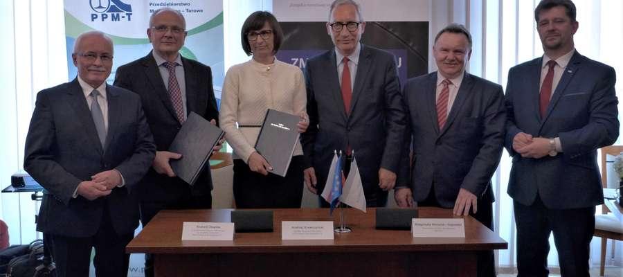 PKP Polskie Linie Kolejowe S.A. podpisały umowę wartą 212 mln zł na realizację projektu z RPO Województwa Pomorskiego na linii Gardeja – Malbork.