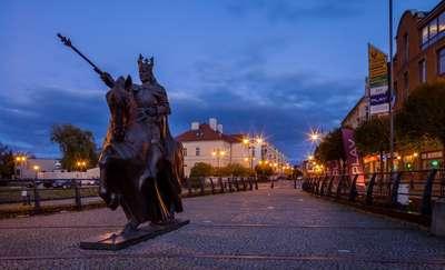 Monument of King Kazimierz Jagiellończyk
