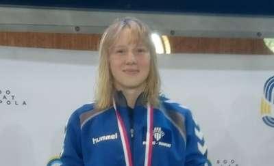 Srebrny medal Alicji Krauze na Mistrzostwach Polski w Pływaniu