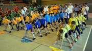 Wspólna  zabawa przedszkolaków i ich rodziców podczas  XIV  Rambitu  Przedszkolnego