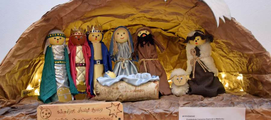 Nagrodzono najpiękniejsze szopki w konkursie Boże Narodzenie w Sztuce