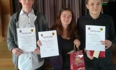 Sukces uczniów II LO