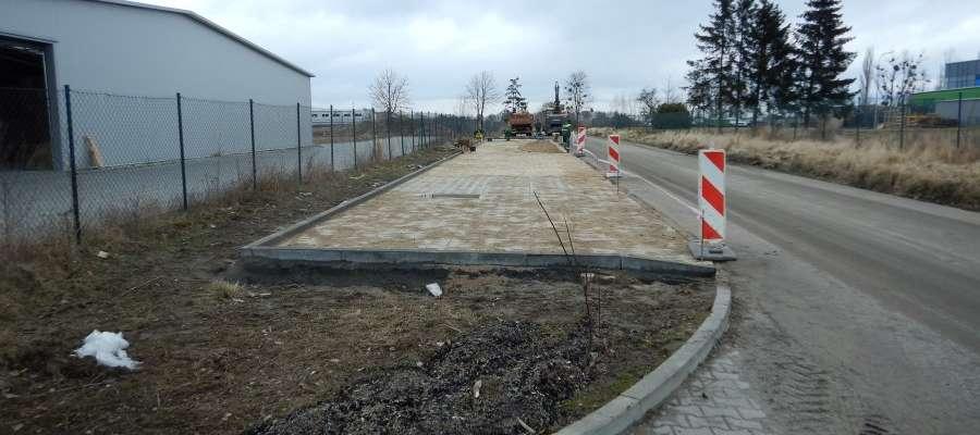 Nowy parking w strefie przemysłowej w Malborku