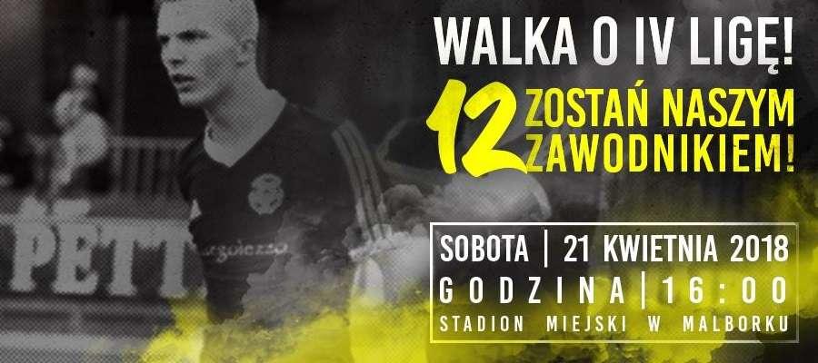 Mecz na szczycie V ligi - Pomezania Malbork - WDA Lipusz