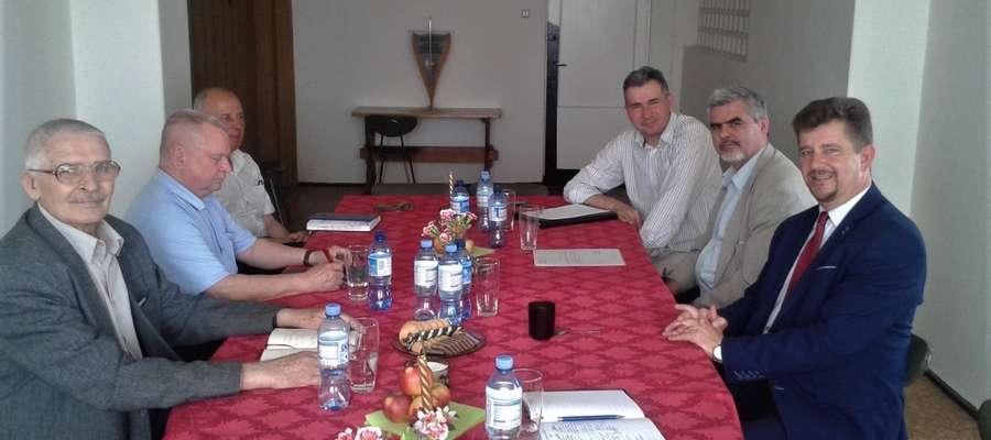 Burmistrz spotkał się z przedstawicielami firmy PEMAL S.A.