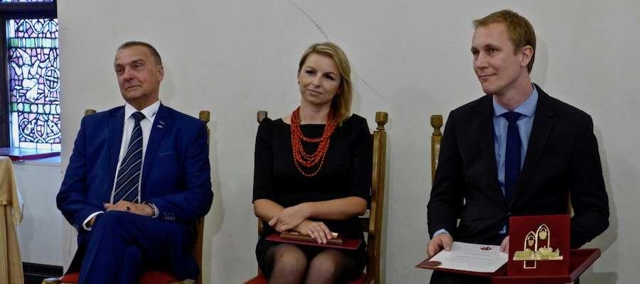 Na zdjęciu wyróżnieni: Wilhelm Hipsag, Anetta Ciok i Daniel Zimmermann