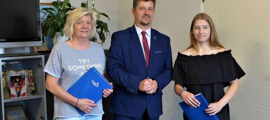 Burmistrz przyznał stypendium sportowe Paulinie Cierpiałowskiej