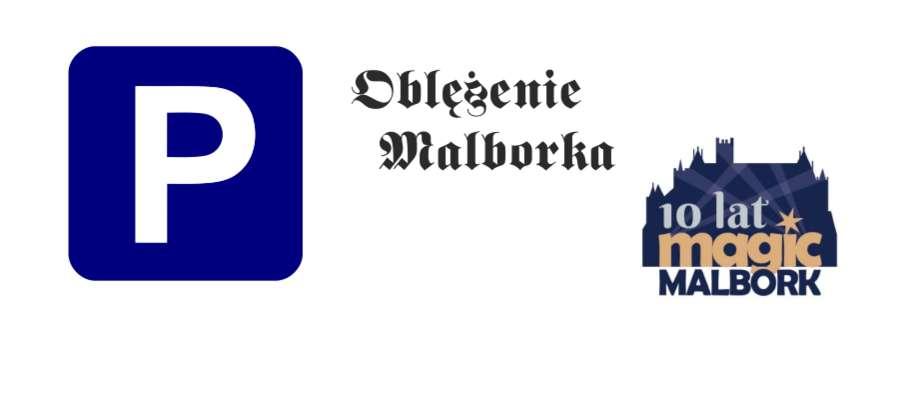 Informacja o parkingach w Malborku