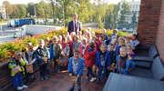 Przedszkolaki z SP5 z wizytą u Pana Burmistrza