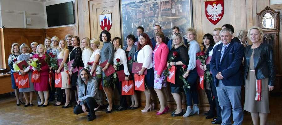 Nagrody Burmistrza z okazji Dnia Edukacji Narodowej