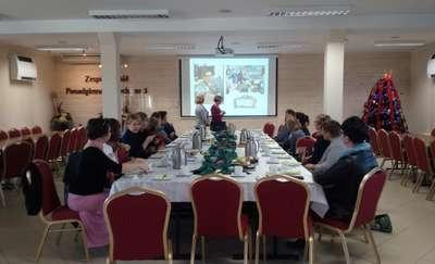 Spotkanie sieci współpracy i samokształcenia dla nauczycieli bibliotekarzy szkół powiatu malborskiego