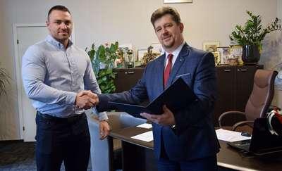 Zawodnik MKS Rzemieślnik Karol Klimaszewski otrzymał stypendium sportowe