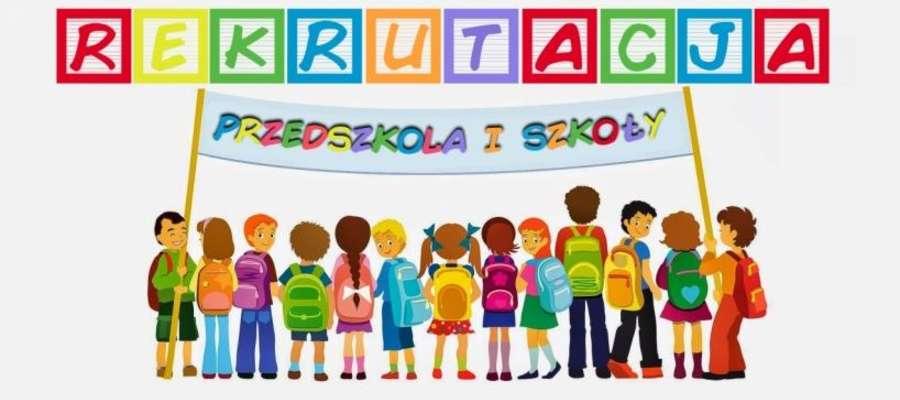 Trwa rekrutacja do szkół i przedszkoli na rok szkolny 2019/2020