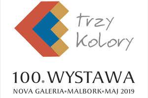 """""""Trzy kolory"""" 100. wystawa w Nova Galeria"""