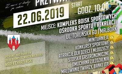 MOP Pomezania Malbork  zaprasza na Wielki Piknik Piłkarski