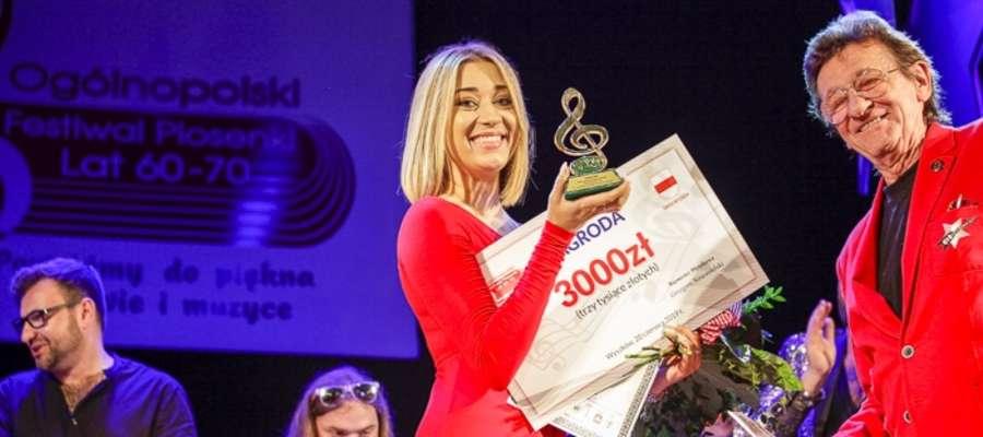 Ania Szatybełko z Grand Prix ogólnopolskiego festiwalu