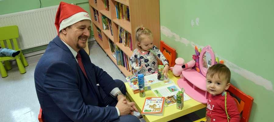 Mikołaj odwiedził dzieci w szpitalu!