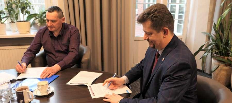 """Podpisano umowę na rozbudowę przystani żeglarskiej """"Park Północny"""""""