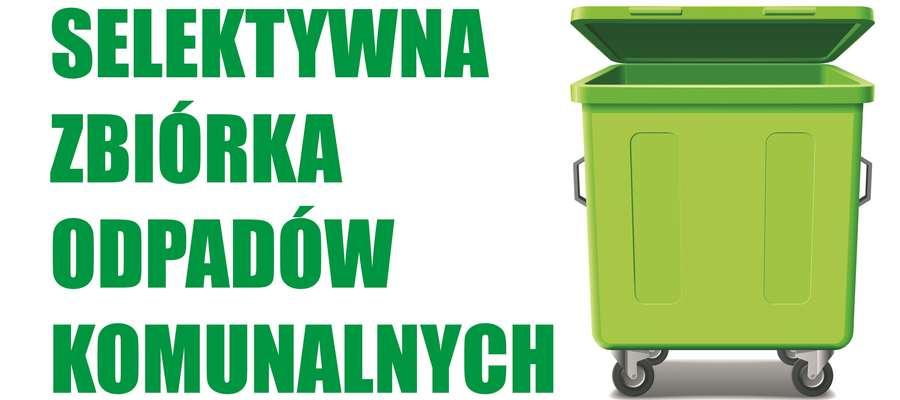Przypominamy zasady segregacji odpadów komunalnych