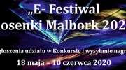 """MCKiE zaprasza do udziału w """"E-Festiwalu Piosenki i Tańca Malbork 2020 """""""