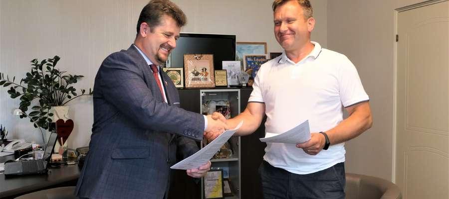 Podpisano umowę na modernizację Orlika przy SP3