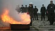 Kolejne ćwiczenia malborskich terytorialsów ze strażakami