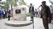Odsłonięto obelisk upamiętniający Hufiec ZHP