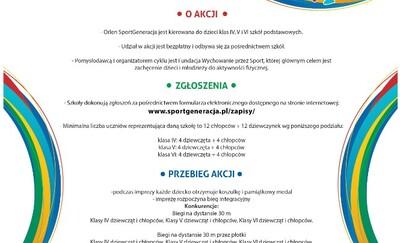 W środę Orlen SportGeneracja czyli zawody dla uczniów malborskich podstawówek