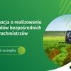 Spis rolny: Informacja o realizowaniu wywiadów bezpośrednich przez rachmistrzów