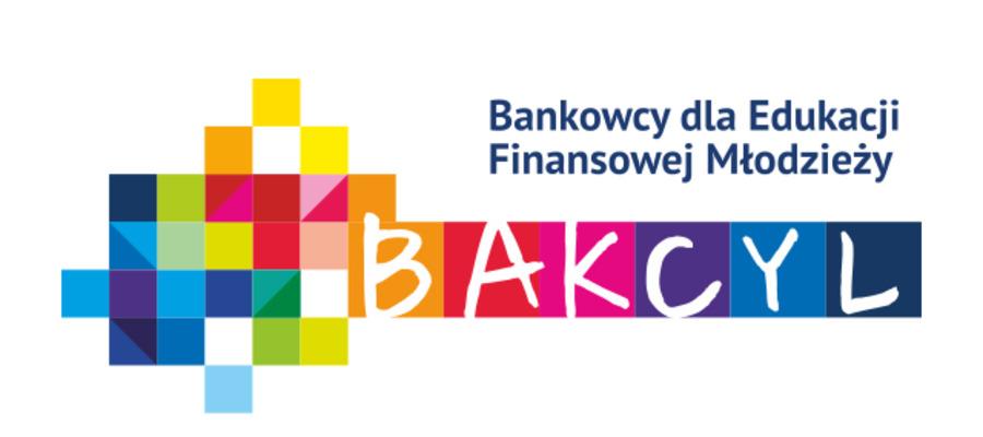 """grafika z nazwą projektu """"Bakcyl. Bankowcy dla Edukacji Finansowej Młodzieży"""""""