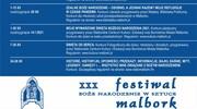 XXX Festiwal ,,Boże Narodzenie w Sztuce''
