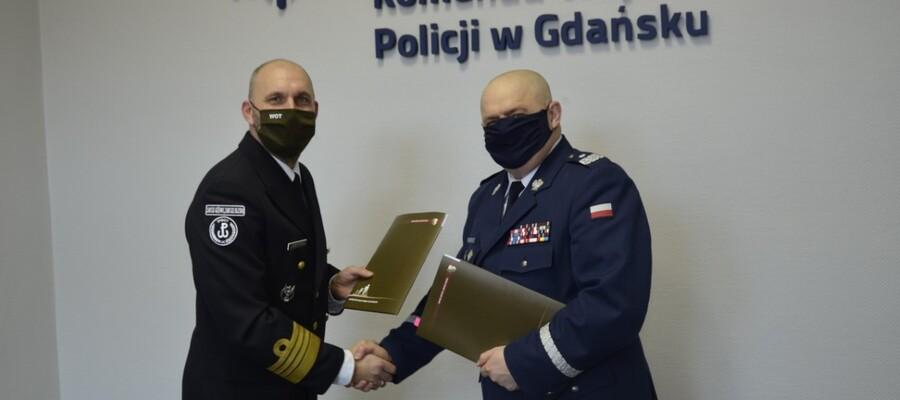 Pomorska Brygada Wojsk Obronych Terytorialnych podpisała porozumienie o współpracy z policją