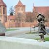 Trzy figurki Marianka nową atrakcją Malborka wykonaną w ramach Budżetu Obywatelskiego