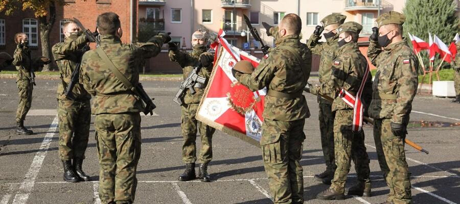 Uroczysta przysięga wojskowa 7 Pomorskiej Brygady Obrony Terytorialnej
