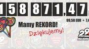 Nowy rekord zbiórki WOŚP w Malborku 158 871,41!