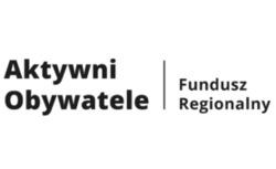 logo z napisem Aktywny Obywatel Fundusz Regionalny