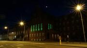 W dzień św. Patryka Urząd Miasta rozświetlił się na zielono