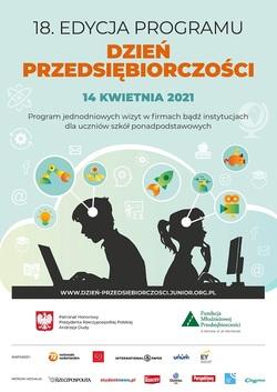 plakat Dni Przedsiębiorczości