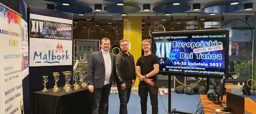 studio Europejskich Dni Tańca, Jacek Suchiński, Sebastian Białobrzeski i Mateusz Łasiewicz