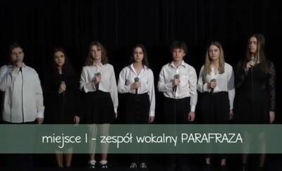 Wokalne sukcesy uczniów I LO na konkursie piosenki patriotycznej w Gdyni