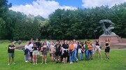 Uczniowie ZSP nr 3 odkrywali Warszawę podczas gry miejskiej oraz spacerku po stolicy