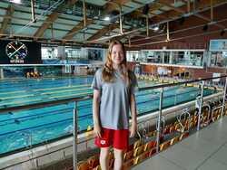 Zuzanna Suska na basenie