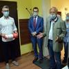 Mikroskop dla szpitala, pieniądze dla MOPS i lekarstwa dla Stacji Socjalnej od dr Meyla z Zakonu Joannitów