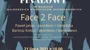 Koncert duetu Face 2 Face na finał Malborskich Warsztatów Akordeonowych